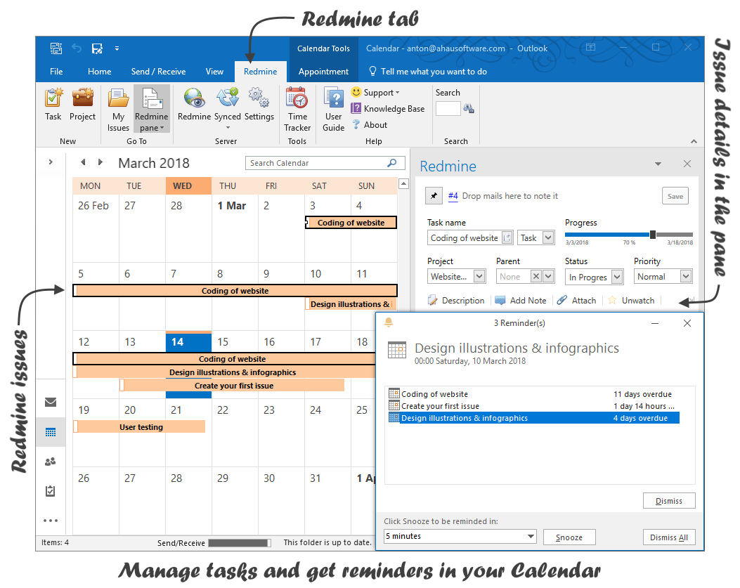 Redmine Outlook Add-in - Plugins - Redmine